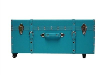 The Designer Wheeled Trunk – Aqua – Large Review