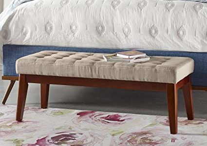 Elle Decor Claire Tufted Bench – Vanilla Review