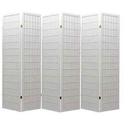Room Divider Panel Screen White (WH-6) Review