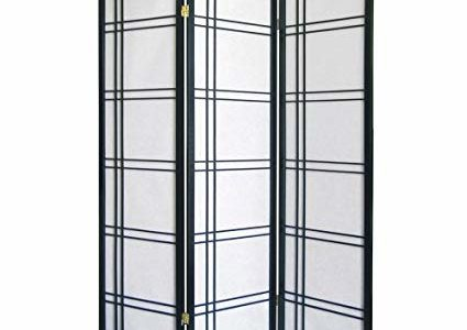 ORE International 3 Panel Room Divider – Black Review