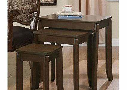 3 Piece Occasional Nesting Side Tables By Coaster Furniture Review